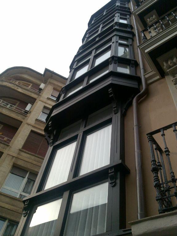 Cerramientos de casas 03 carpinter a malmas n - Carpinteria casas ...